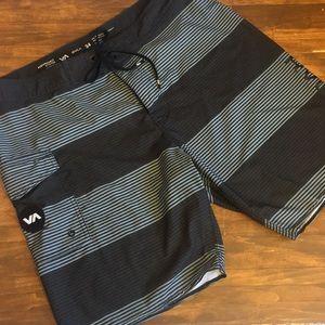 performance stretch RVCA® swim trunks